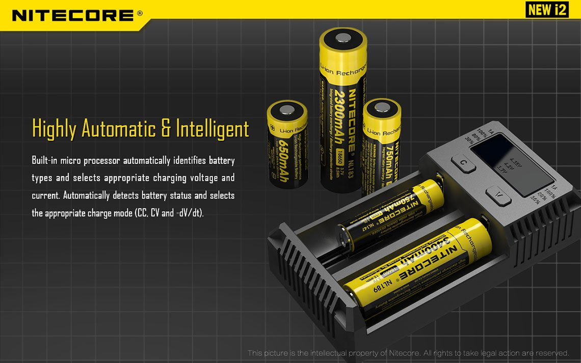New i2 Charger by Nitecore