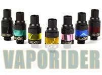 Wide Bore Stainless Steel + POM 510 Drip Tip