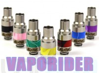 Wide Bore Stainless Steel + POM 510 Drip Tip (Silver)