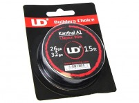 Youde UD 15ft Kanthal A1 26ga + 32ga Clapton Wire