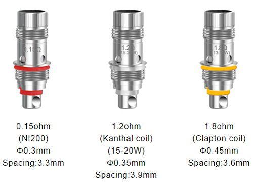 Aspire Triton Mini Tank Coils (5pk)