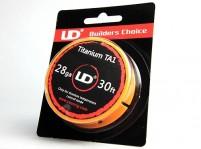 30ft Youde UD Titanium TA1 Wire 26GA