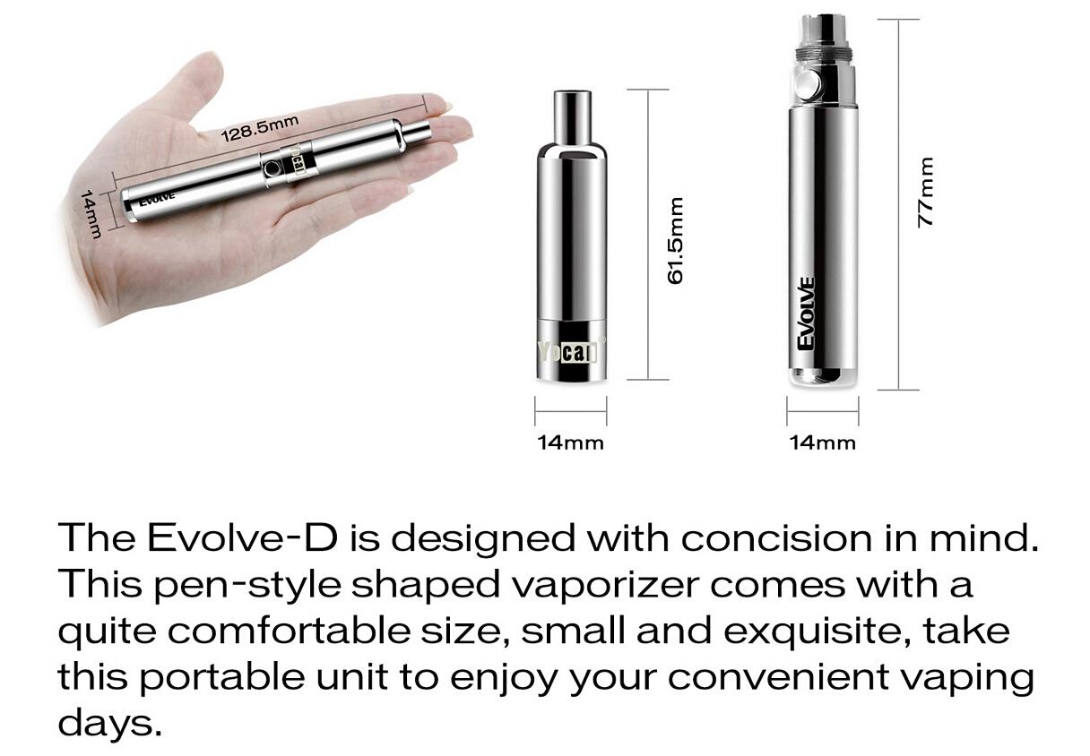 Yocan Evolve D Dry Herb Pen The Leading Usa Vapor