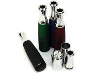 Dual Ceramic Coil Skillet Ego Atomizer for Wax