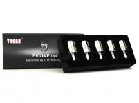 Yocan Evolve Wax Pen Coils QDC Quartz Dual Coil/Ceramic Donut (5pk)
