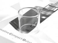 Glass Tube for Eleaf MELO 3 Mini Tank / iStick Pico 75W TC Starter Kit
