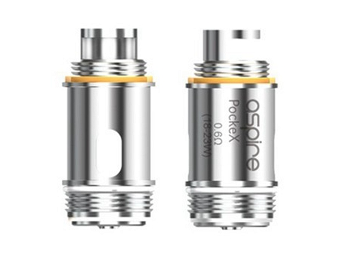 Image result for Aspire PockeX 0.6Ω Atomizer