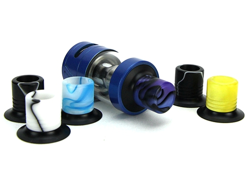 Tobeco 25mm Super Tank/Super Tank Mini Acrylic Wide Bore Drip Tip
