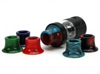 Tobeco 25mm Super Tank/Super Tank Mini Resin Wide Bore Drip Tip