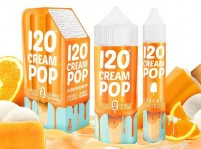 120 Cream Pop Gourmet E-Liquid 120mL by Mad Hatter Juice