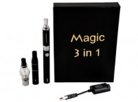 Magic 3 in 1 Wax/Dry Herb/E-Liquid EVOD 1100mAh Starter Kit