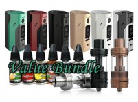 Wismec Reuleaux RX2/3 & Uwell Crown II & Atmos USA Juice 30mL Value Bundle