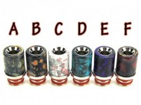 Resin & Stainless Steel 510 Drip Tip