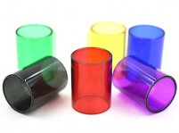 Colored Pyrex Glass Tube for SMOK TFV8 Big Baby 5mL Tank