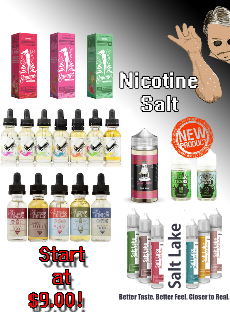 premium nicotine salt collection