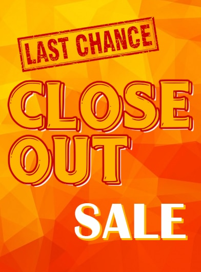 closeout sale - large