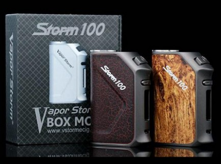 Vapor Storm 100W TC Mod Build-In 3200mAh Battery