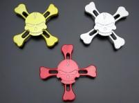 Skull and Crossbones Metal Fidget Spinner