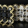 9-Gear Steampunk Fidget Spinner w/ Case