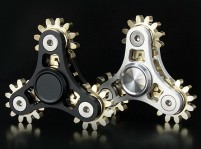 4-Gear Steampunk Fidget Spinner w/ Case