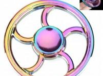 rainbow circle spinner
