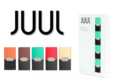JUUL ALL-IN-ONE STARTER KIT 0.7ML E-JUICE PODS 5% NICOTINE (4PCS)