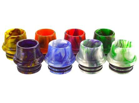 Epoxy Resin 810 Drip Tip for SMOK TFV8/TFV8 Big Baby/TFV12 - Random Colors