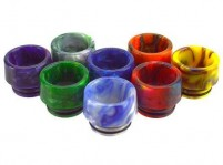 Epoxy Resin Wide Bore 810 Drip Tip for SMOK TFV8/TFV8 Big Baby/TFV12 - Random Colors