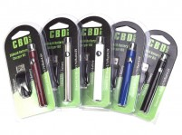 Variable Voltage 350mAh Mini Vape Pen Battery & USB Charger Kit