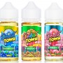 Donut Town 100mL E-Liquid - Blueberry Boulevard