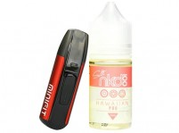 JUSTFOG MINIFIT Kit and Naked 100 Salt 30mL E-Juice Bundle