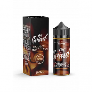 The Grind 100mL E-Liquid caramel mocchiato