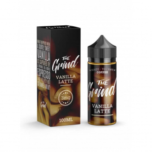 The Grind 100mL E-Liquid vanilla latte