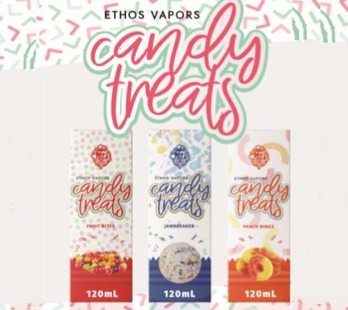 Ethos Candy Treats 120mL E-Liquid